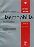 Haemophilia cover sheet
